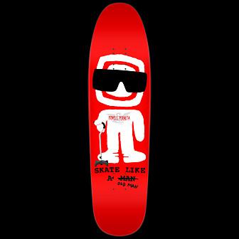 Powell Peralta Skateboard Deck Funshape Slaom - 8.4 x 31.5
