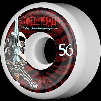 Powell Peralta Rodriguez Skull and Sword PF Skateboard Wheels 56mm 103A 4pk