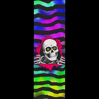 Powell Peralta Grip Tape Sheet 10.5 x 33 Ripper Tie-dye (White)