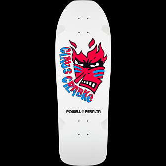 Powell Peralta Claus Grabke Blem Skateboard Deck Shape 287 SP0 - 10.25 x 30.5