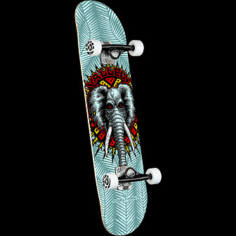 Powell Peralta Vallely Elephant Blue Complete Skateboard - 8.25 x 31.95