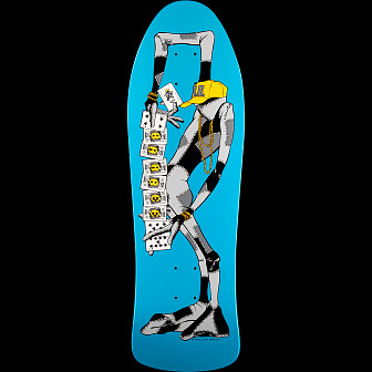 Powell Peralta Ray Barbee Rag Doll Blem Skateboard Deck Blue 155 SP2