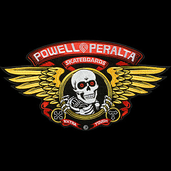 "Powell Peralta Winged Ripper Patch 12"" Single"