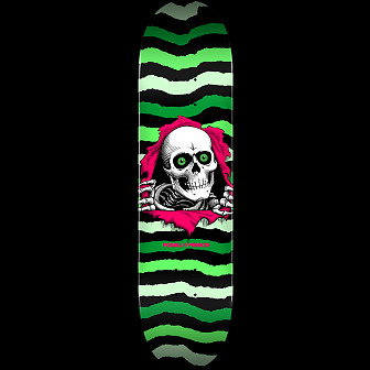 Powell Peralta Ripper Skateboard Blem Deck Green 245 K21 - 8.75 x 32.95