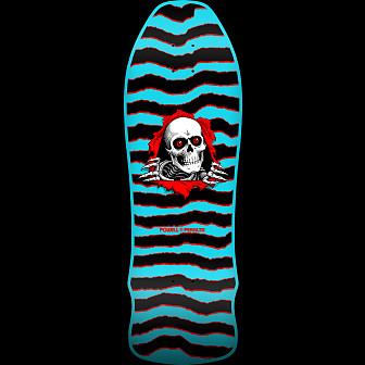 Powell Peralta GeeGah Ripper Blem Skateboard Deck blue - 9.75