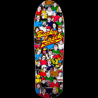 Powell Peralta Bucky Lasek Stadium Skateboard Deck Reissue - 10 x 31.5