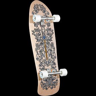 Bones Brigade Guerrero Series 8 Skateboard Complete Natural- 9.85 x 31.35