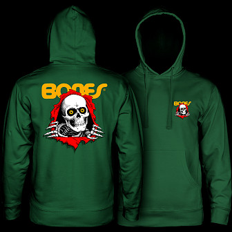 Powell Peralta Ripper Hooded Sweatshirt Mid Weight Alpine Green