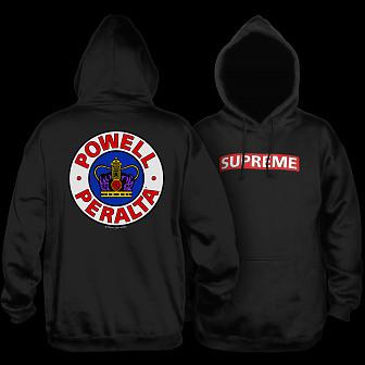 5f21c36da200 Powell Peralta Supreme 2 Hooded Sweatshirt Black