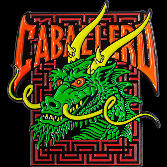 Powell Peralta Cab Street Dragon Green Lapel Pin
