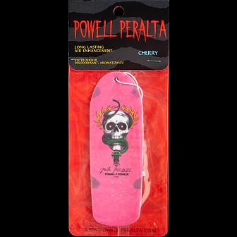 Powell Peralta Skull & Snake Air Freshener Pink - Cherry Scent