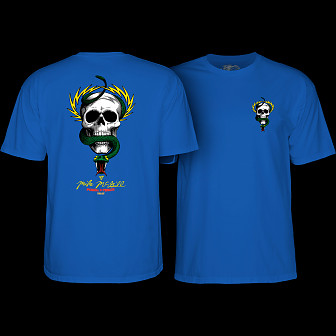Powell Peralta McGill Skull and Snake T-shirt Royal Blue