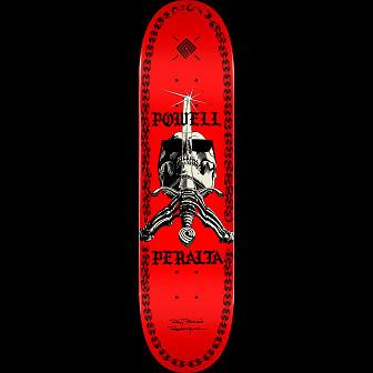 Powell Peralta SAS Chainz Skateboard Blem Deck Red - 8 x 31.45