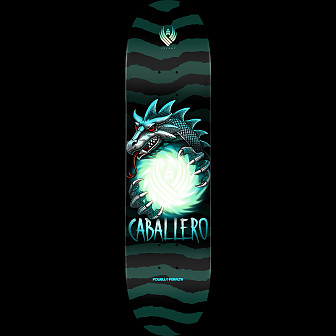 Powell Peralta Steve Caballero Flight Skateboard Deck - Shape 243 - 8.25 x 31.95