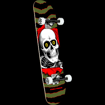Powell Peralta Ripper One Off Olive Complete Skateboard - 7 x 28
