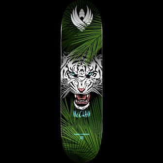 Powell Peralta Pro Brad McClain Tiger 2 Flight® Skateboard Deck - Shape 243 - 8.25 x 31.95