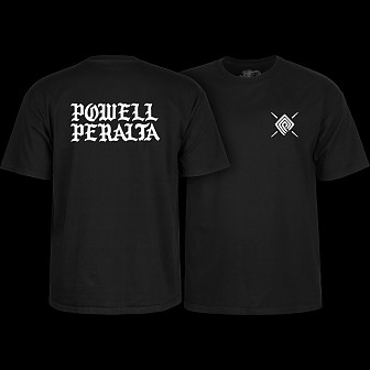 Powell Peralta PPP Burst T-shirt Black