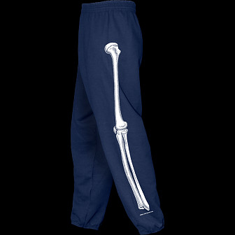 Powell Peralta Leg Bones Sweatpants Navy