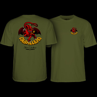 Powell Peralta Cab Dragon II T-shirt Military Green