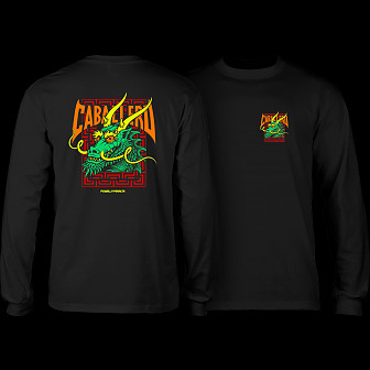 Powell Peralta Caballero Sreet Dragon L/S Shirt Black