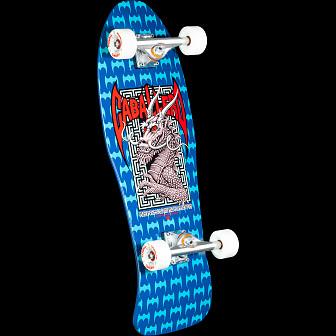 Bones Brigade Caballero Series 6  Skateboard Complete Blue- 10 x 30