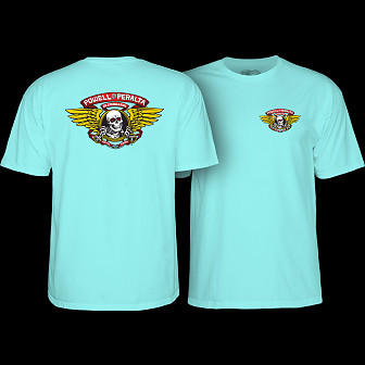 Powell Peralta Winged Ripper T-shirt Celadon