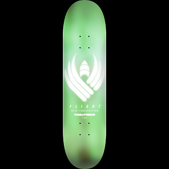 Powell Peralta Flight Skateboard Deck Glow Mint - 8.25 x 31.95