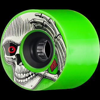 Powell Peralta Kevin Reimer Skateboard Wheel 72mm 75A 4pk Green