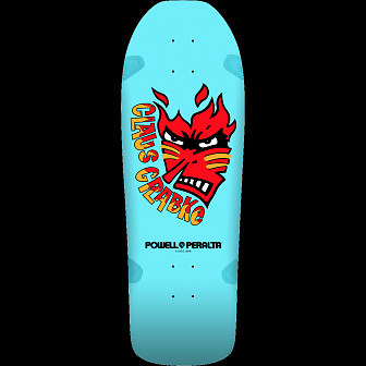 Powell Peralta Claus Grabke Skateboard Deck Aqua - Shape 287 SP0 - 10.25 x 30.5