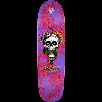 Powell Peralta Pro McGill Skull and Snake 02 Flight Skateboard Deck - 8.97 x 32.38