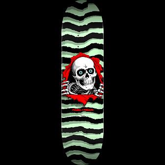 Powell Peralta Ripper Skateboard Blem Deck Pastel Green 248 K20 - 8.25 x 31.95