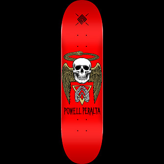 Powell Peralta Halo Snake Blem Skateboard Deck Red 242 K20 - 8 x 31.45