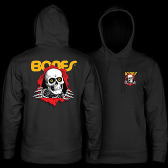 8b13172a9f22 Powell Peralta Ripper Hooded Sweatshirt Black