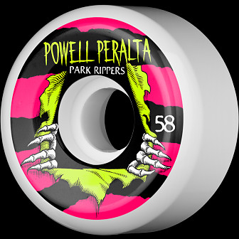 Powell Peralta Ripper Skateboard Wheels 58mm 104A 4pk