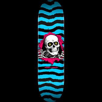 Powell Peralta Ripper Skateboard Blem Deck Aqua 243 K20