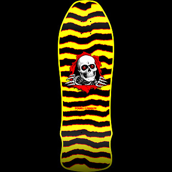 Powell Peralta GeeGah Ripper Skateboard Deck Yellow - 9.75