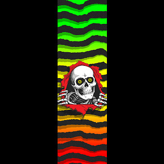 Powell Peralta Grip Tape Sheet 10.5 x 33 Ripper Fade (White)