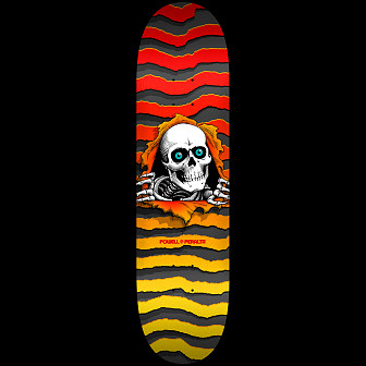Powell Peralta New School Ripper Skateboard Deck - 8.25 x 32.5
