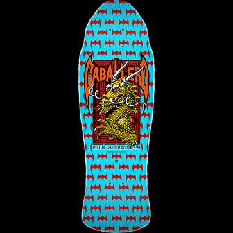 Powell Peralta Caballero Street Skateboard Blem Deck Blue - 9.625 x 29.75