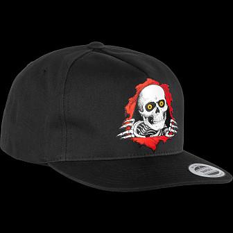 Powell Peralta Ripper Snapback Cap Black