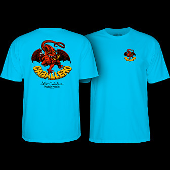 Powell Peralta Cab Dragon II T-shirt Turquoise