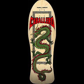 Powell Peralta Pro Steve Caballero Chinese Dragon Blem Skateboard Deck Natural - 10 x 30