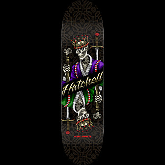 Powell Peralta Pro Ben Hatchell King Skateboard Deck - 8 x 31.45