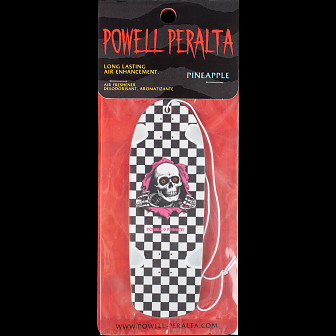 Powell Peralta Checker Ripper Air Freshener White - Pineapple Scent