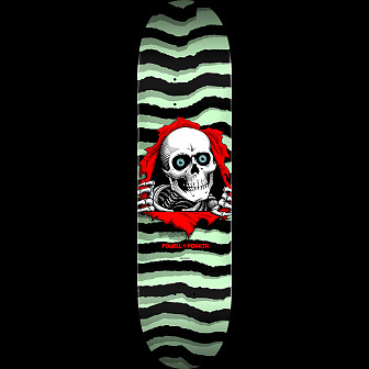 Powell Peralta Ripper Skateboard Deck Pastel Green 248 K20 - 8.25 x 31.95