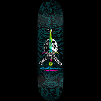 Powell Peralta Skull and Sword Skateboard Deck 8.75 x 33.25