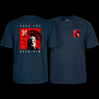 Powell Peralta Animal Chin 30 yrs. Navy T-shirt