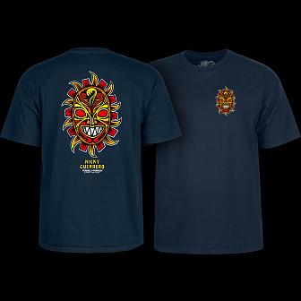 Powell Peralta Nicky Guerrero Mask T-Shirt Navy