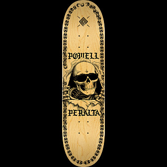 Powell Peralta Ripper Chainz Skateboard Blem Deck Natural - 9.05 x 32.95