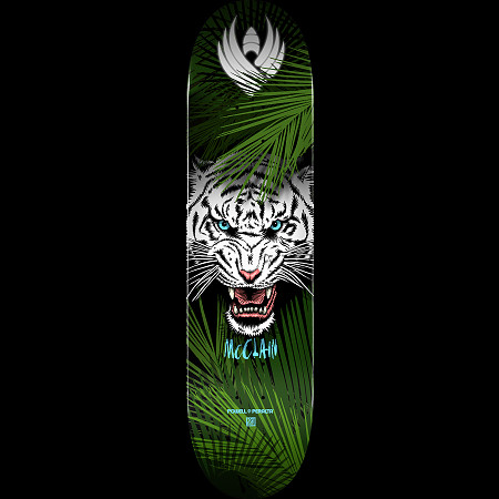 "Powell Peralta Skateboard Complete Brad McClain Tiger 8.0/"" x 31.45/"""